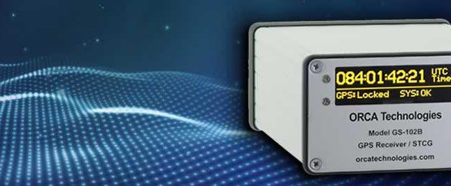 GS-102B GPS/IRIG-B Synchronized Time Code Generator