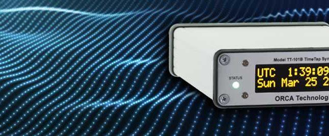 TT-101B TimeTap PTPv2 / Time Code Synchronized Generator
