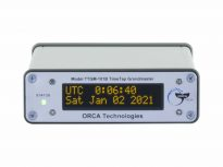 TTGM-101B GPS / Time Code Synchronized Generator - Front View